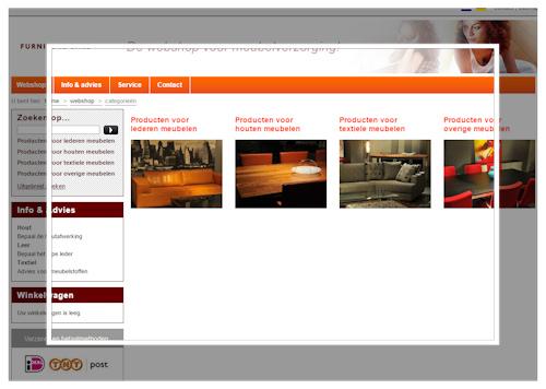 Oranje Meubel Verzorgingsproducten